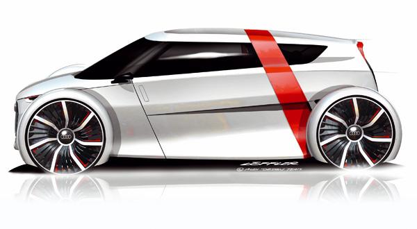 Audi Urban Concept - Skizze