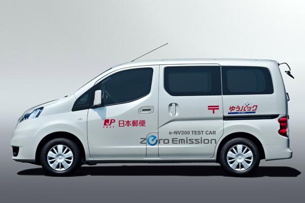 Elektrofahrzeug Nissan N200-EV