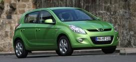 Hyundai i20 blue 1.4 CRDi