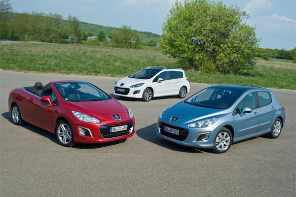 Peugeot e-HDi jetzt im 308, dem 308 SW, dem 308 CC und vielen weiteren Modellen verfügbar