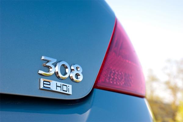 Peugeot 308 e-HDi Detail