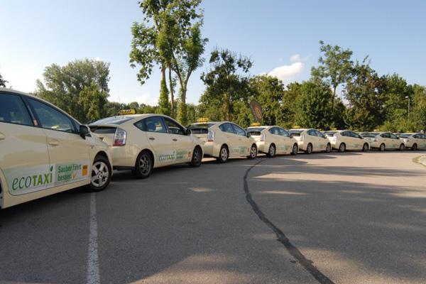 Toyota Prius Umwelt-Taxis