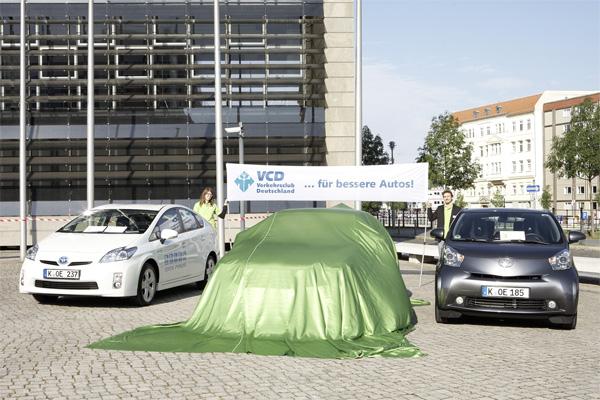 VCD Auto Umweltliste 2011/2012 - Die Sieger