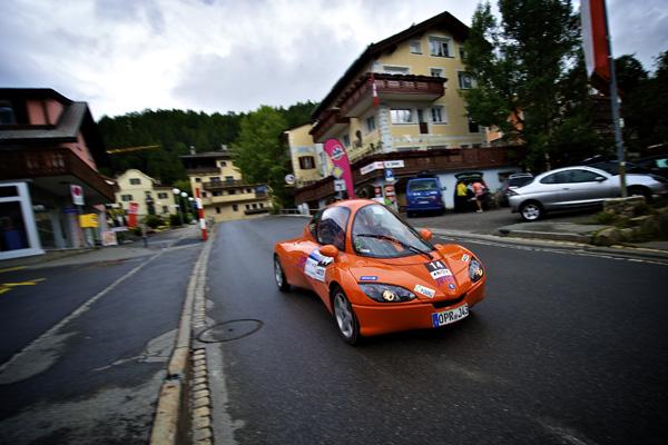e-miglia 2011 - 2. Platz: Jetcar Elektro