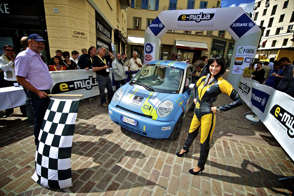 e-miglia 2011 - 3. Platz: Think City