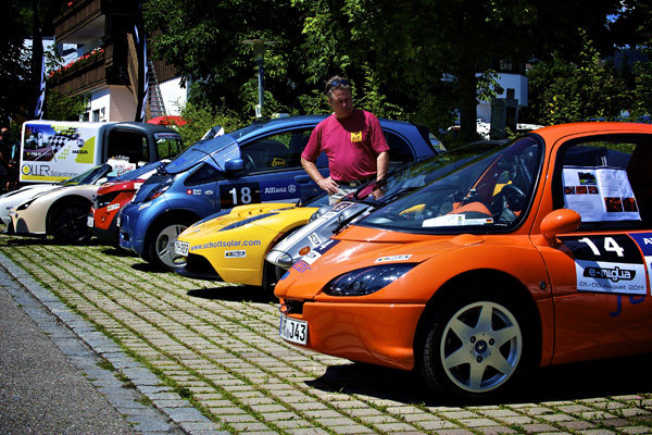 e-miglia 2011 Teilnehmer