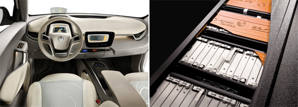 Elektroauto ie:3 von Johnson Controls - Innenraum und Batterien