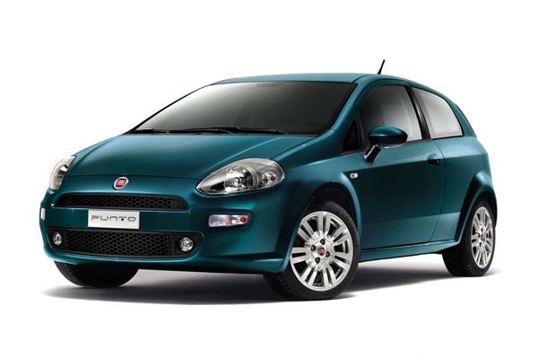 Fiat Punto - Modelljahr 2012