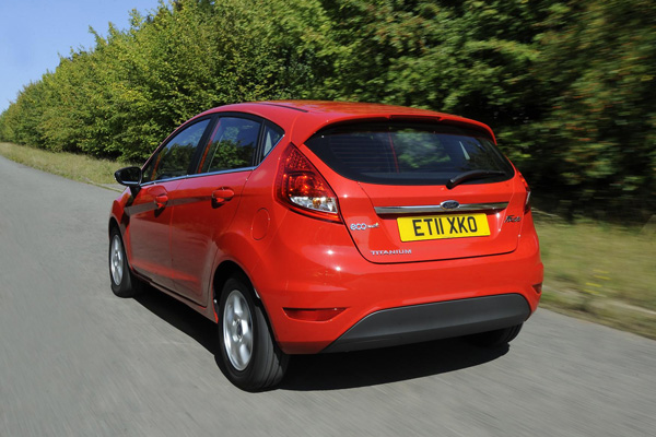 Ford Fiesta ECOnetic Technology