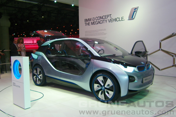 IAA 2011 - BMW i3 Concept