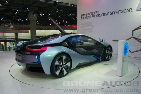 IAA 2011 - BMW i8 Concept