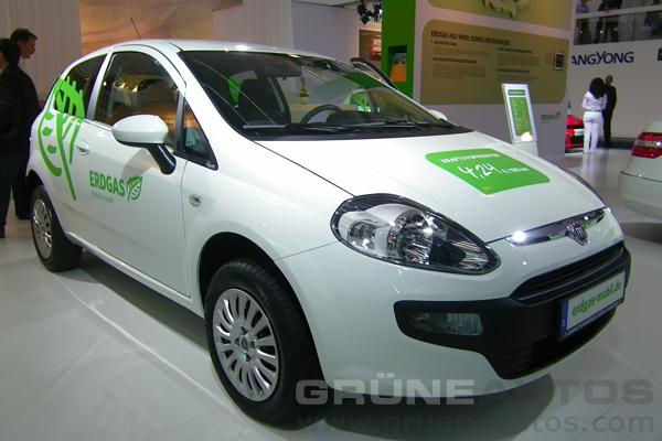 IAA 2011 - Erdgas Fiat Punto