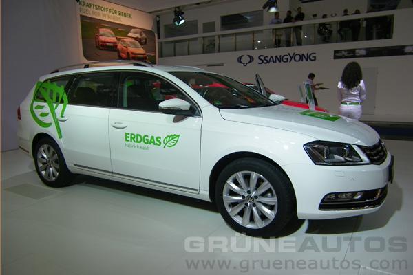 IAA 2011 - Erdgas VW Passat