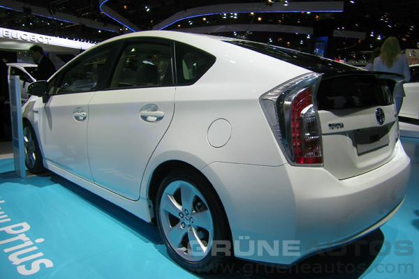 IAA 2011 - Neuer Toyota Prius