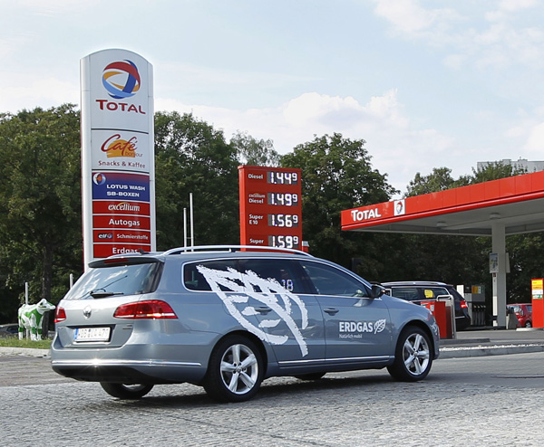 VW Erdgas Passat
