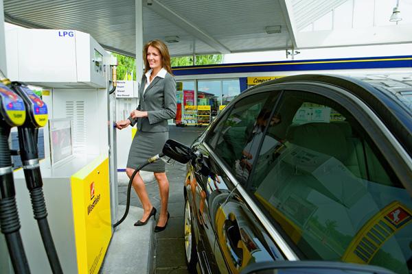 Alternativer Kraftstoff Autogas (LPG) von der Westfalen AG