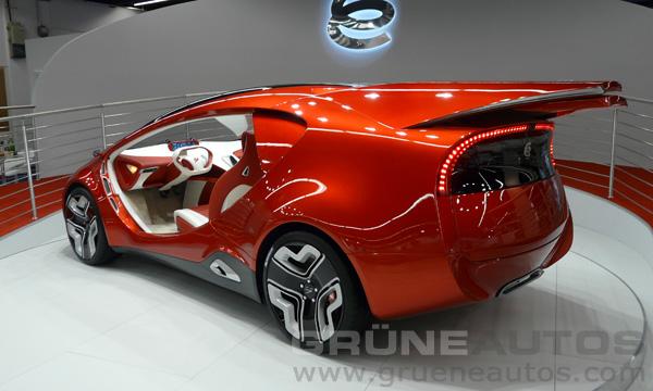 IAA 2011 - Yo-Auto e-Concept