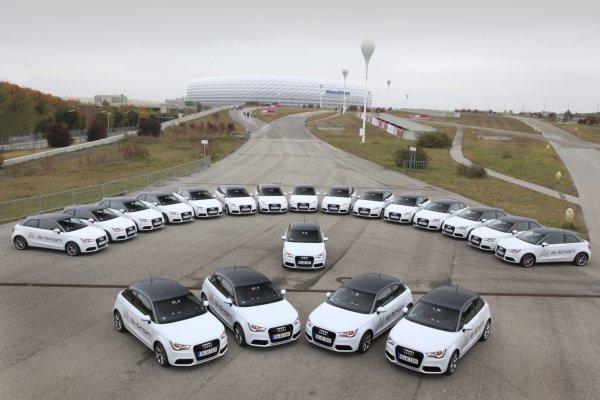 Audi A1 e-tron Flottenversuch