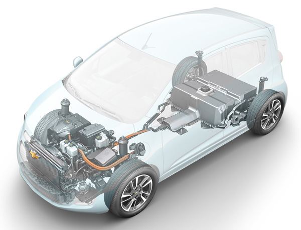 Chevrolet Spark EV - Technik