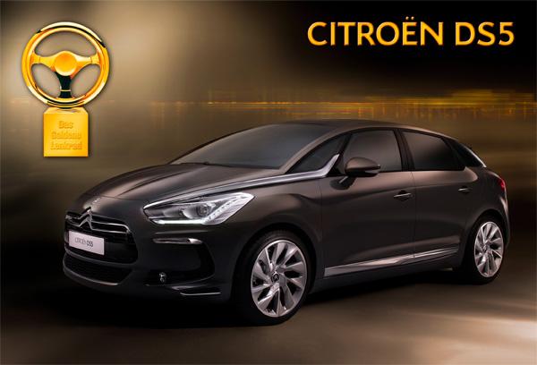 Citroen DS5 Hybrid4 gewinnt Goldenes Lenkrad 2011