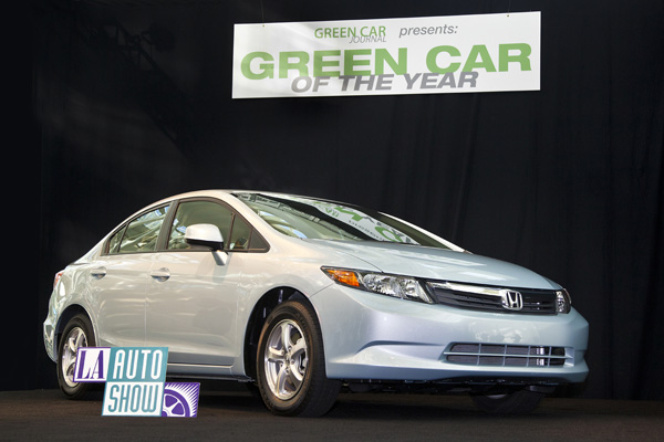 Honda Civic Natural Gas - Gewinner des Green Car of the Year Award 2012