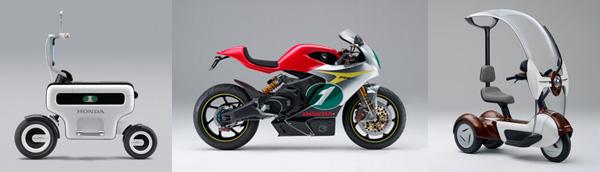 Honda Elektromotorrad und -Roller