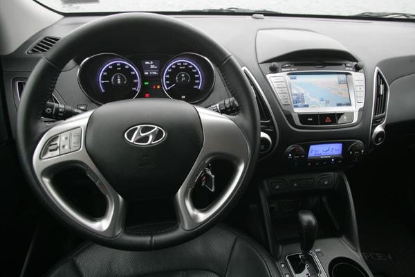 Hyundai ix35 FCEV Cockpit