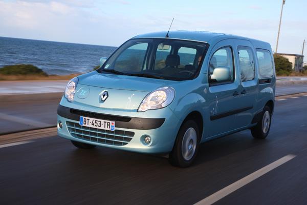 Renault Kangoo Z.E. (Elektrotransporter)