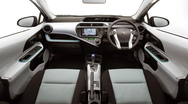 Toyota Aqua Innenraum