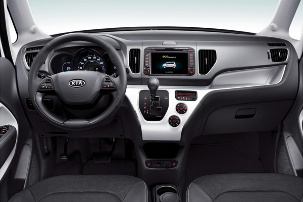 Kia Ray EV - Cockpit