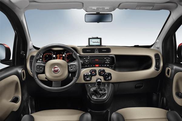 Neuer Fiat Panda - Innenraum