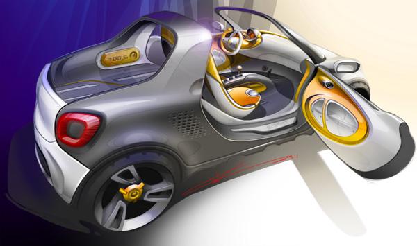 smart for-us - Pick-Up im Miniformat