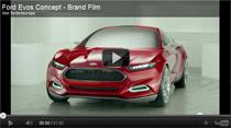 Ford Evos Concept: Studie eines attraktiven Plug-In-Hybridfahrzeugs