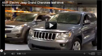 AMP Electric Jeep Grand Cherokee - Testfahrt-Video