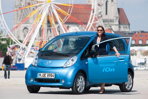 Elektroauto Peugeot iOn