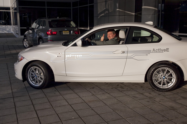 Erster BMW ActiveE Fahrer in den USA