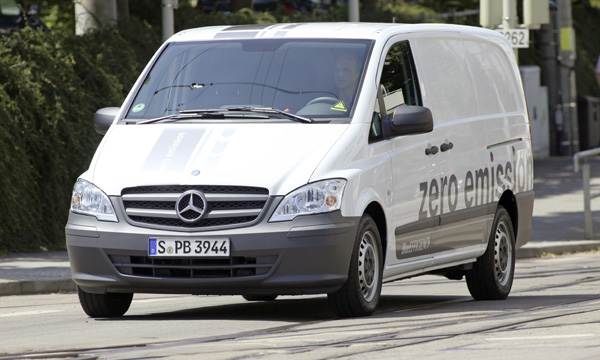 Mercedes-Benz Vito E-CELL E-Transporter