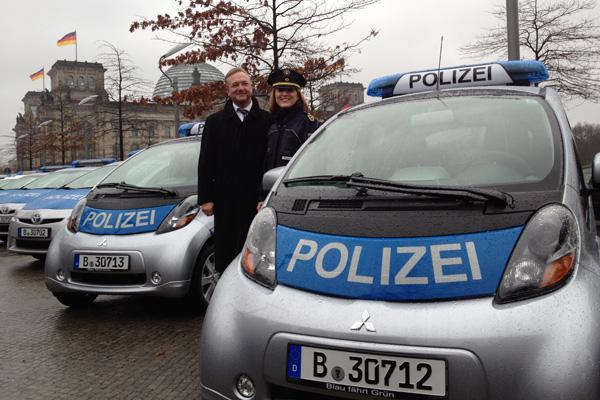 Mitsubishi iMiEV - Polizeiautos