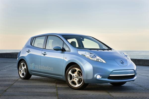 Nissan LEAF startet in Deutschland
