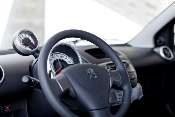 Peugeot 107 Cockpit