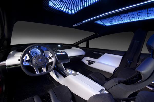 Toyota NS4 Innenraum
