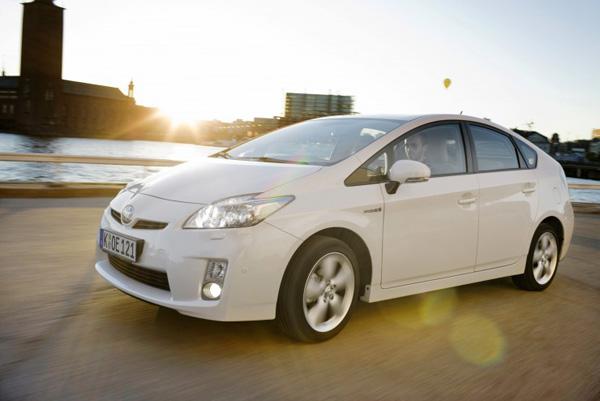 Toyota Prius Hybridfahrzeug