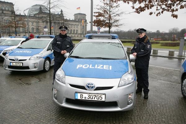 Toyota Prius - Polizeiautos
