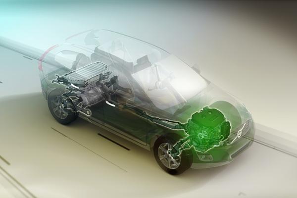 Volvo XC60 Plug-in Hybrid Concept - Benzinmotor
