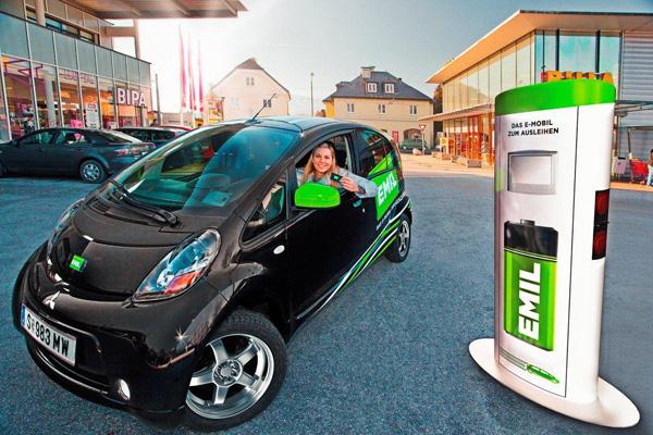 EMIL Elektroauto Carsharing