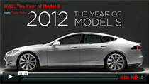Video - 2012 Year of Tesla Model S