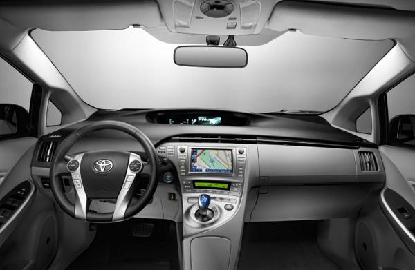 Der neue Toyota Prius - Cockpit