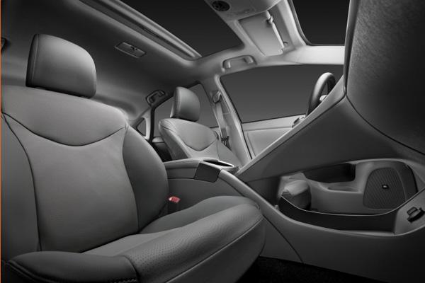 Der neue Toyota Prius - Innenraum