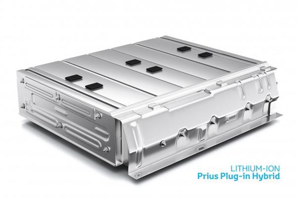 Lithium-Ionen Batterie für den Prius
