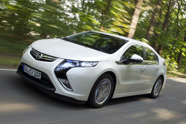 Opel Ampera Elektroauto